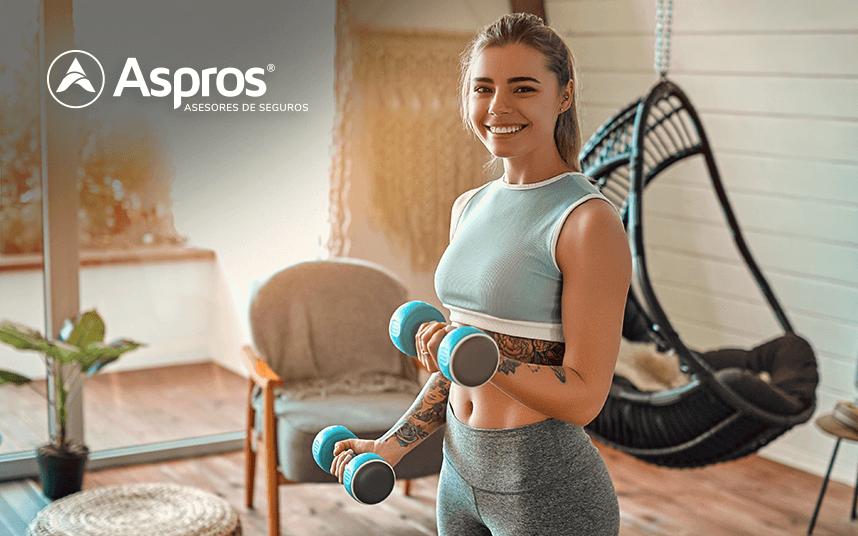 ¿Cómo entrenar en casa y mantenerte sano?